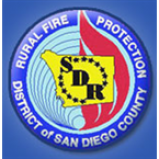 Radio Rural San Diego County CAL FIRE and USFS