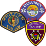 Radio Downey Police and Fire, and Whittier Police